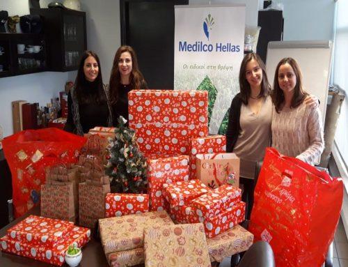 Η Μedilco Hellas κοντά στο Χριστοδούλειο Ίδρυμα αυτά τα Χριστούγεννα!